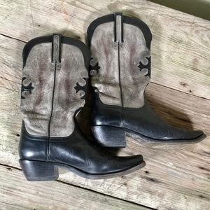 Charlie 1 Horse Western leather cowgirl boots 7B